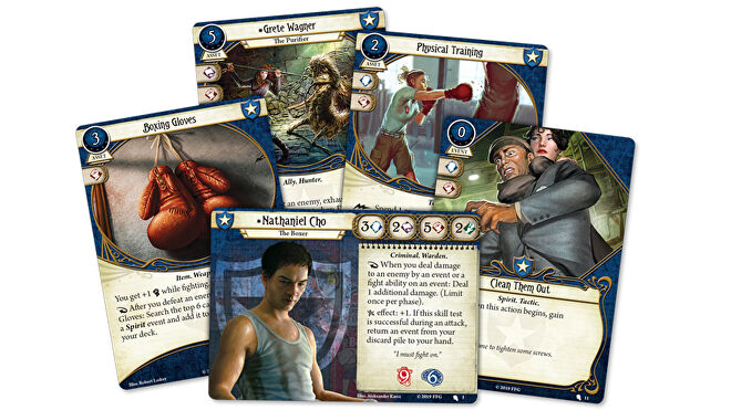 Arkham Horror: The Card Game Nathaniel Cho card fan