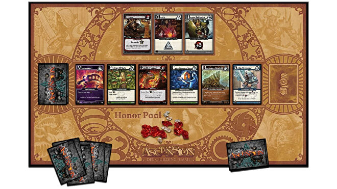 Ascension: Deck Building Game board game board