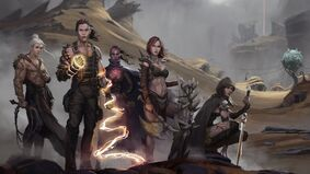 Image for Save a dying world without metal in dark fantasy RPG Asunder