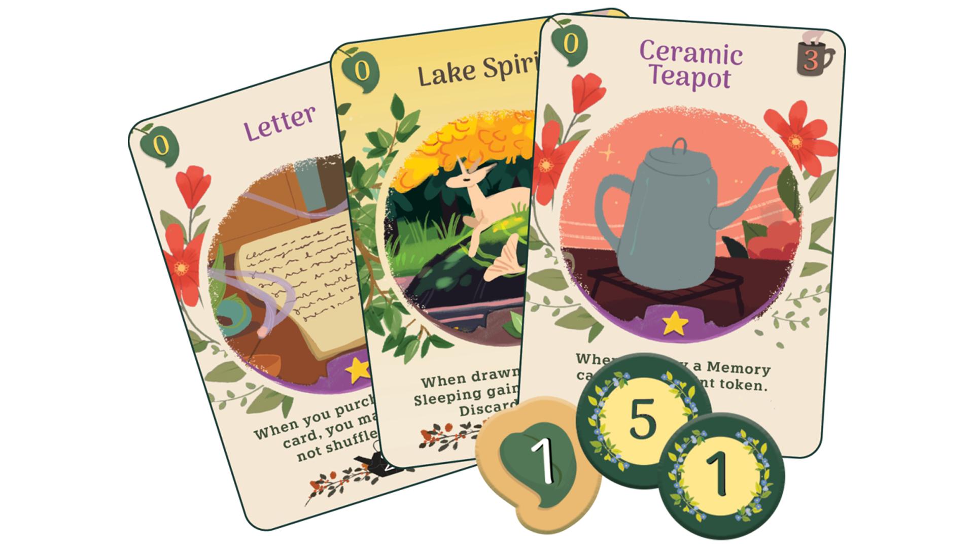 Autumn Harvest: A Tea Dragon Card Game cards
