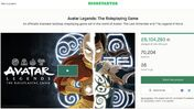 Image for 28 tabletop games have made $1m on Kickstarter in 2021 so far