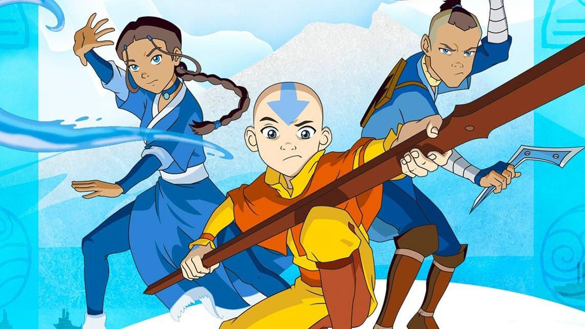 Avatar: The Last Airbender anime promo 2