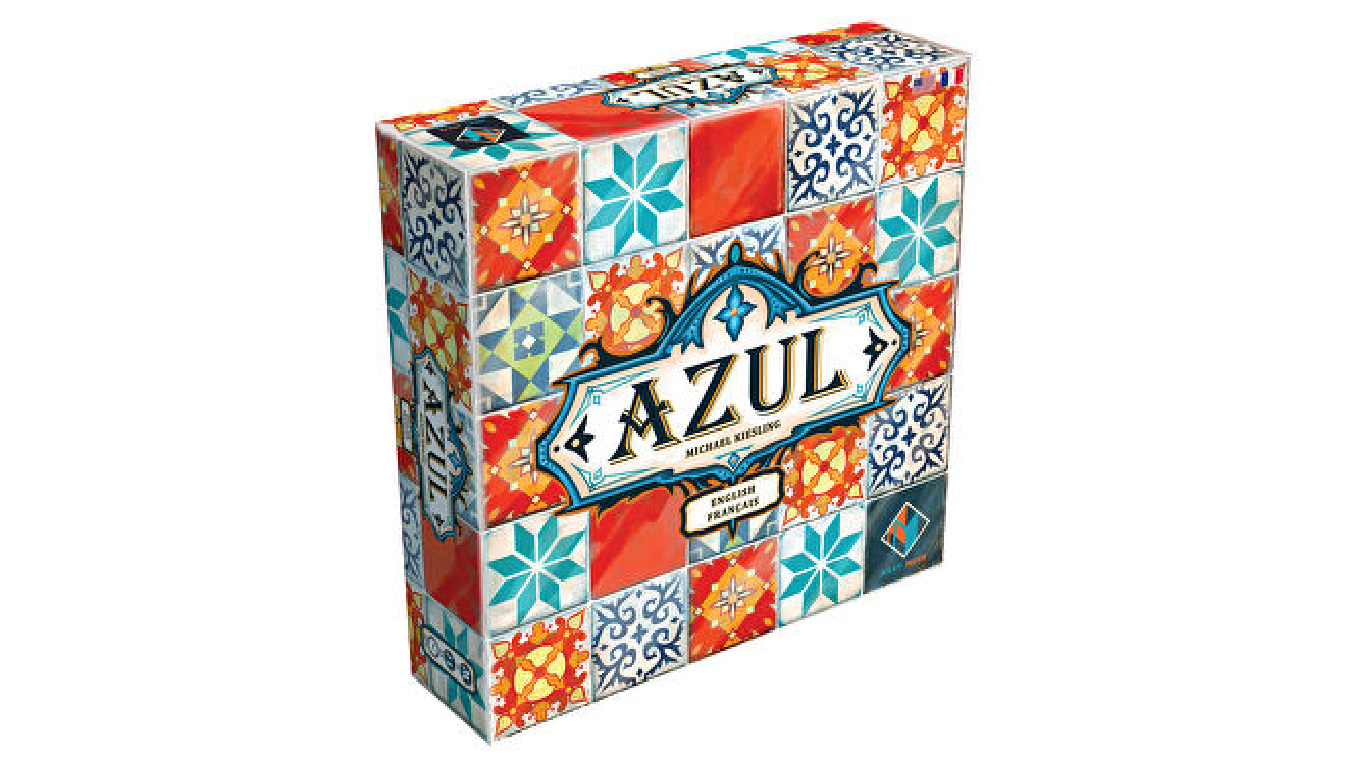 Azul beginner board game box