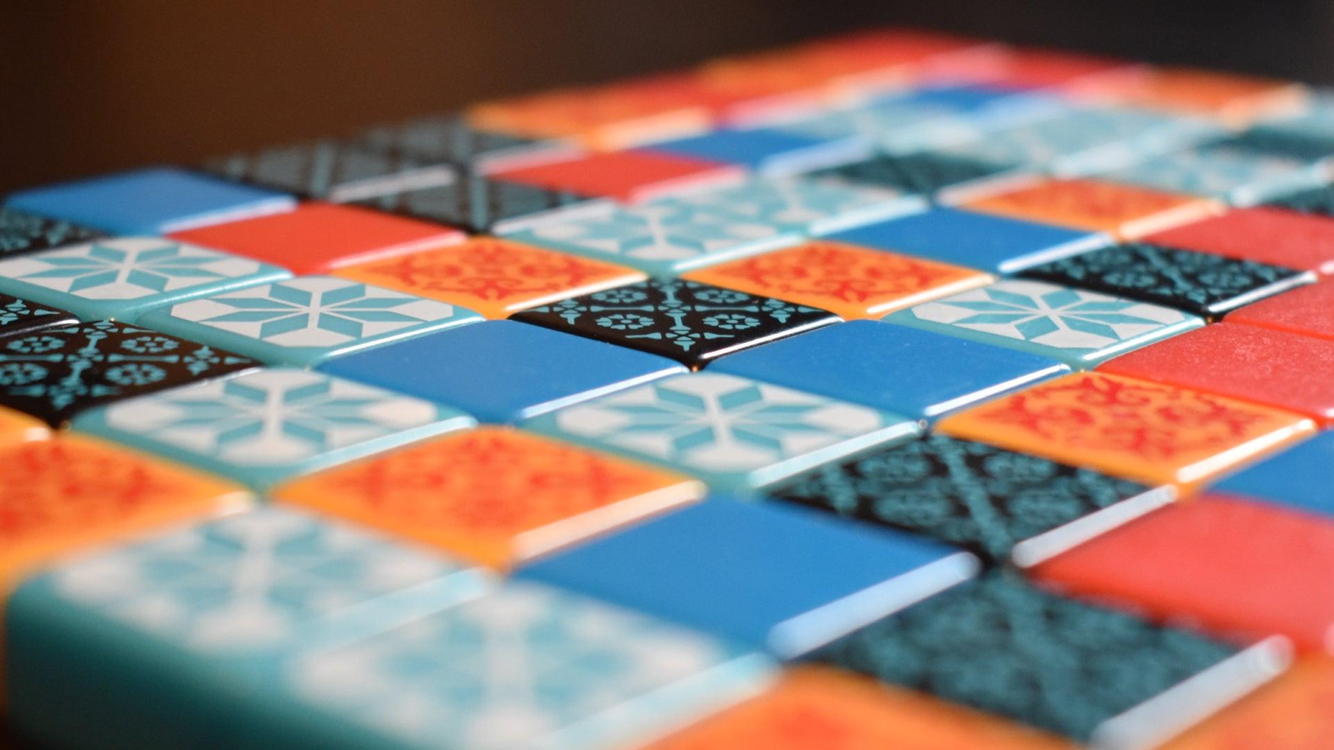 Azul board game tiles