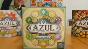 Image for Azul: Queen's Garden, the next entry in the mosaic board game series, has been teased for late 2021