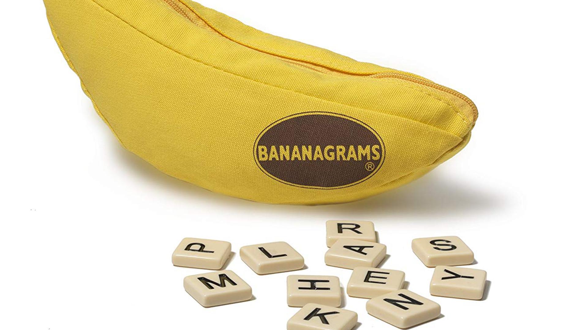 Bananagrams board game artwork