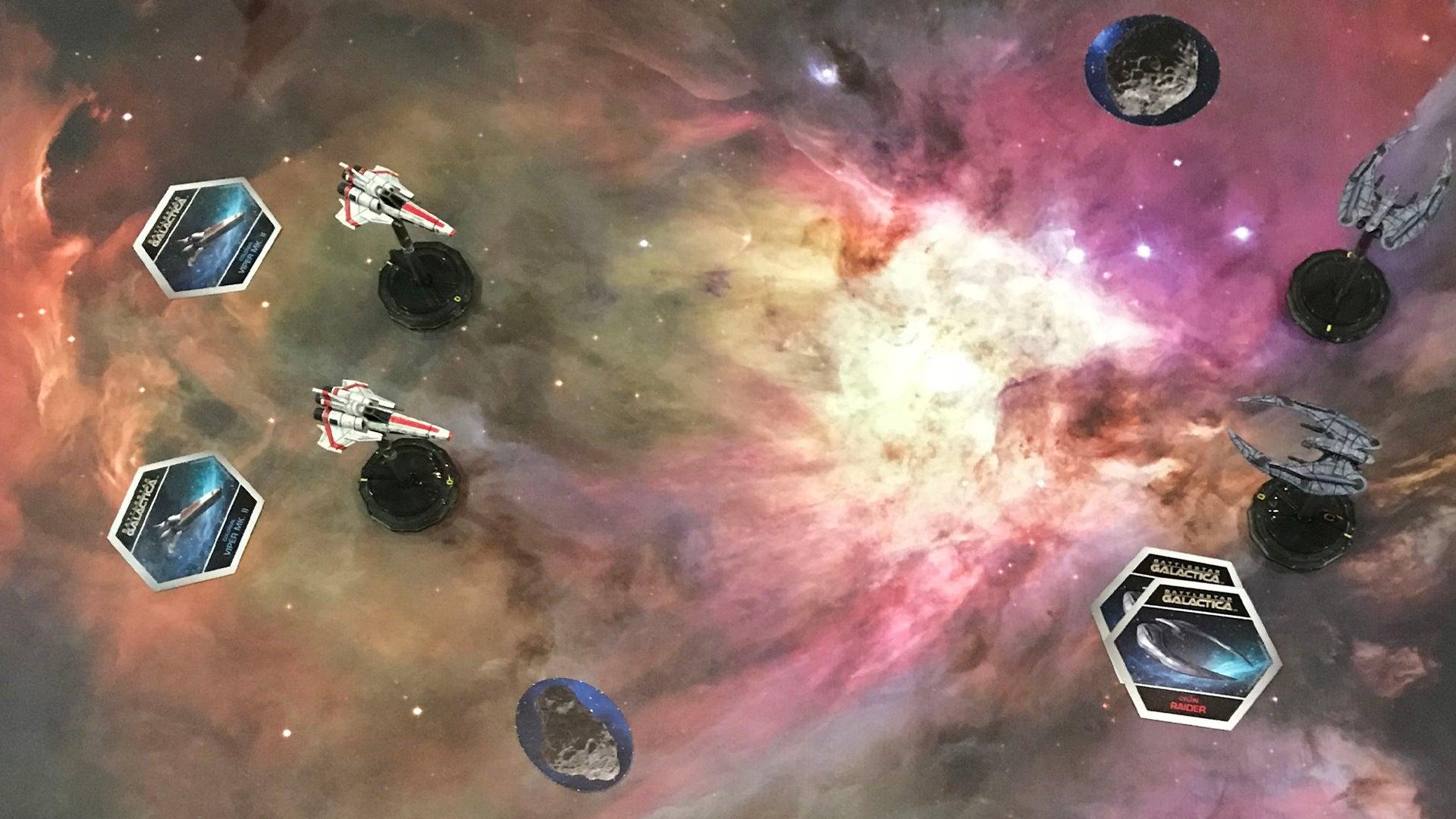 Battlestar Galactica: Starship Battles miniatures 2