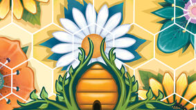 Beez board game artwork