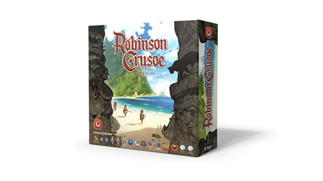 Robinson Crusoe: Adventures on the Cursed Island co-op board game box
