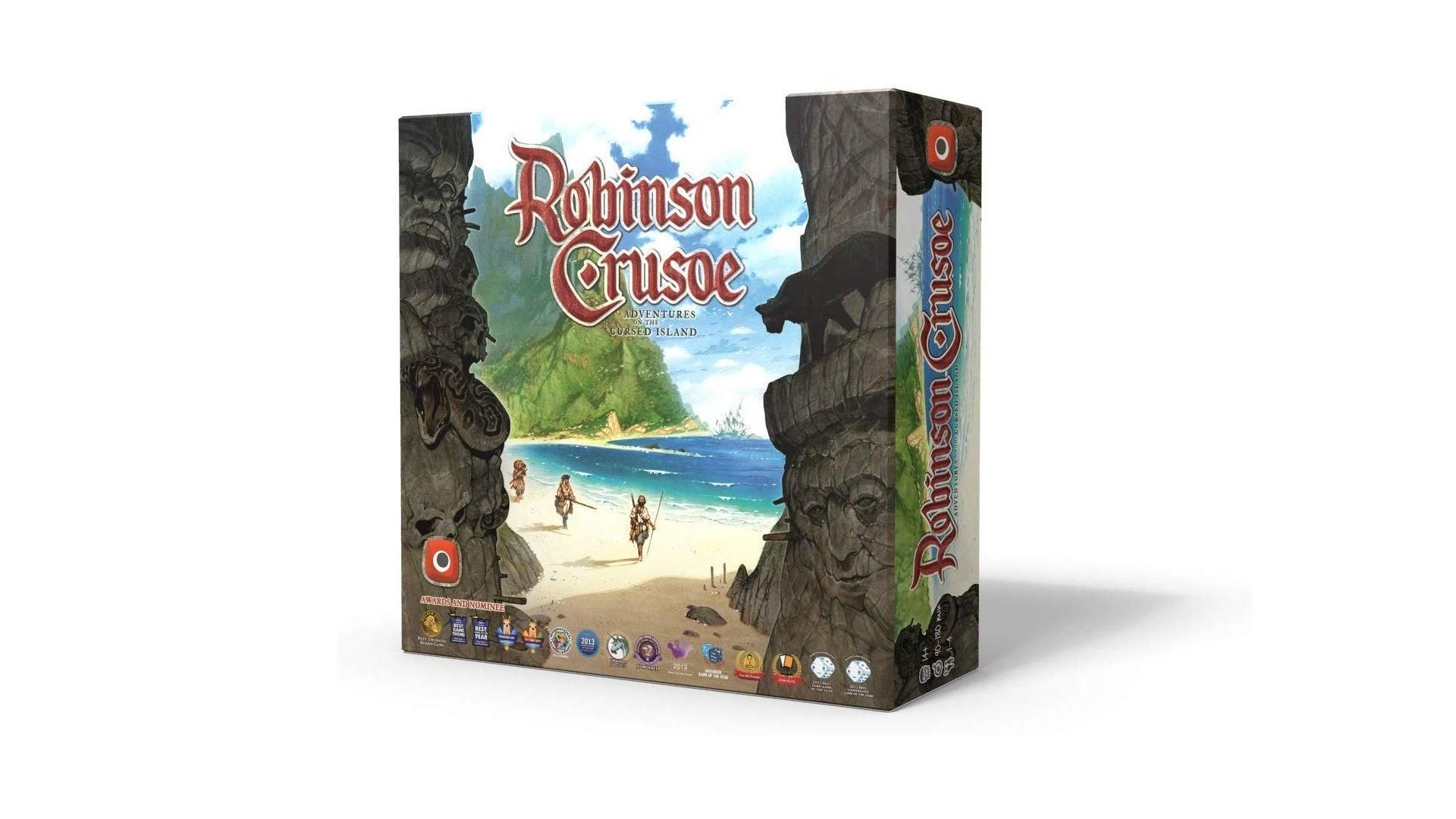 Robinson Crusoe: Adventures on the Cursed Island co-op board game box