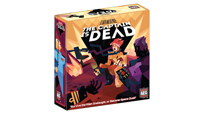 The Captain is Dead co-op board game box