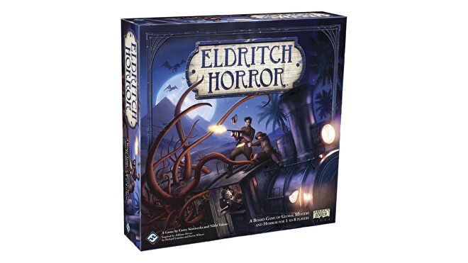 Eldritch Horror board game box