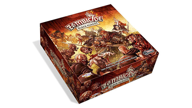 Zombicide: Black Plague horror board game box