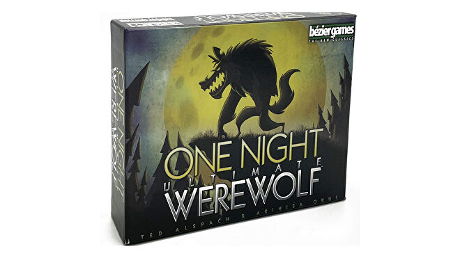 One Night Ultimate Werewolf horror board game box