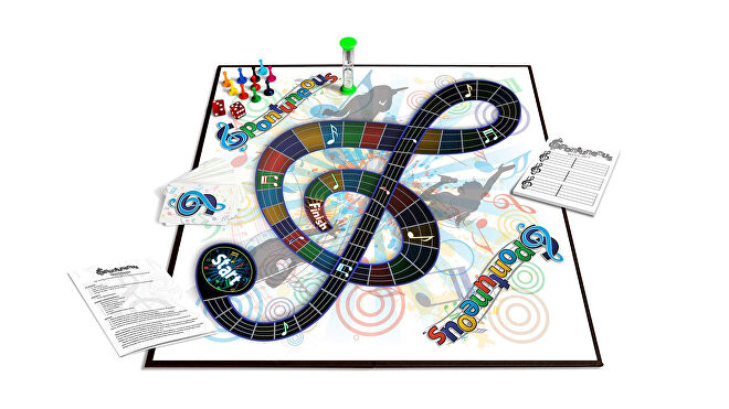 Spontuneous party board game game board