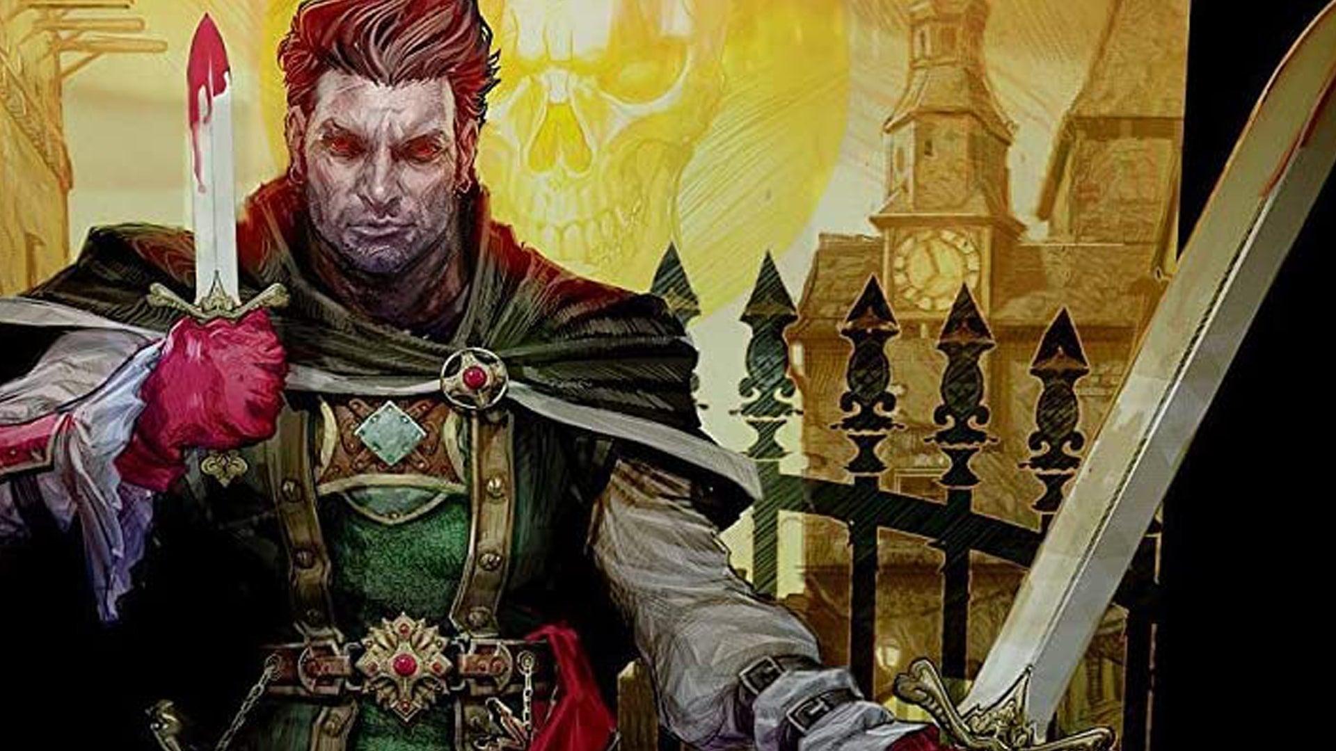 Betrayal at Baldur's Gate board game artwork
