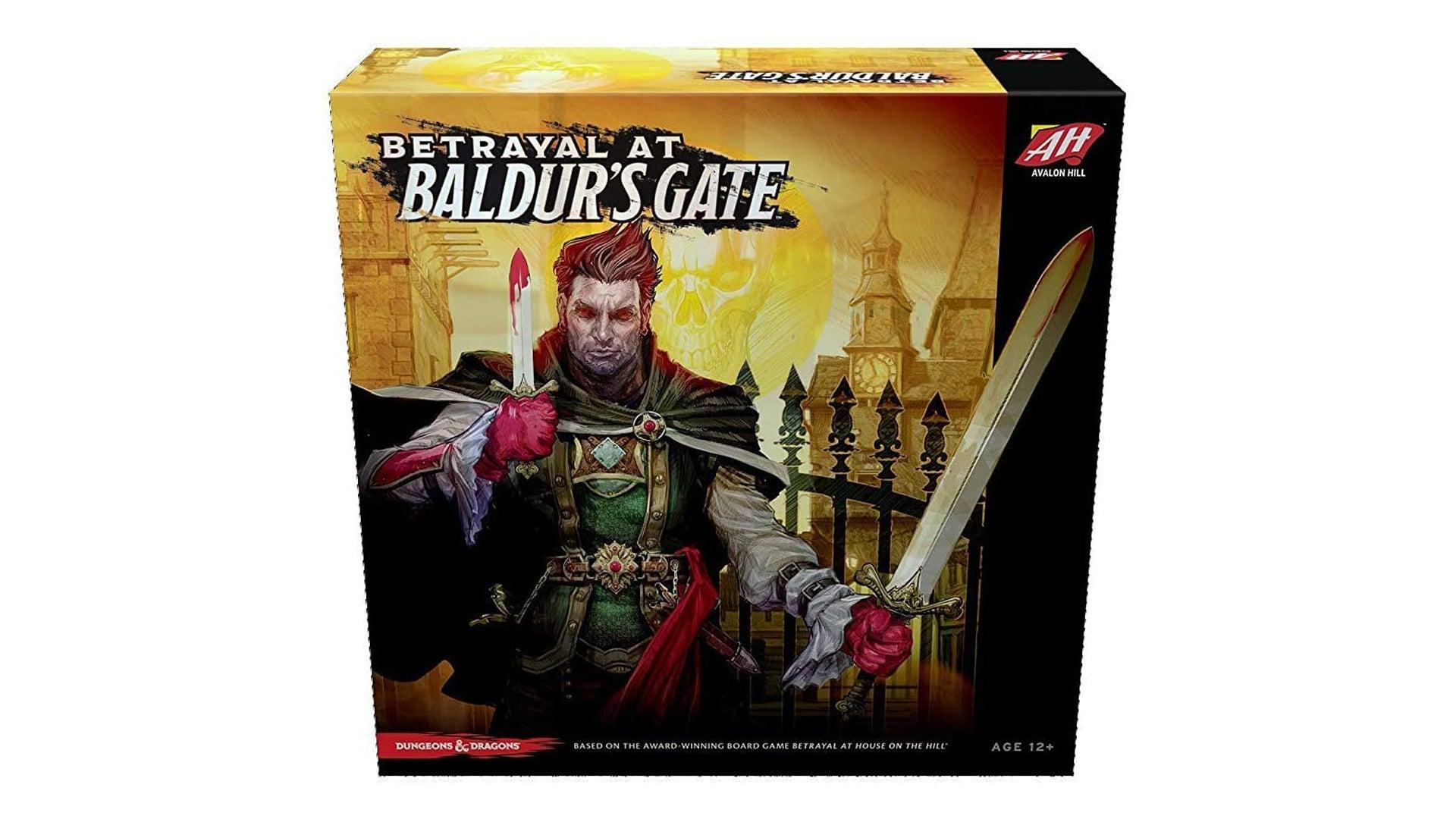 Betrayal at Baldur's Gate board game box