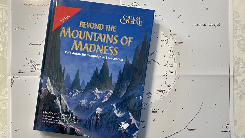 Beyond the Mountains of Madness book