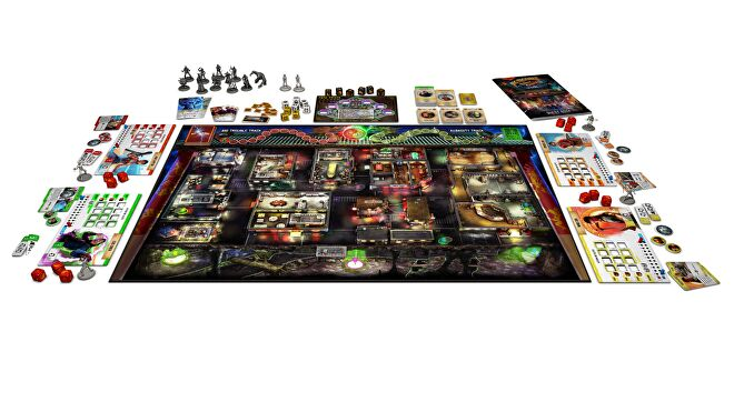 Big Trouble in Little China movie board game gameplay layout