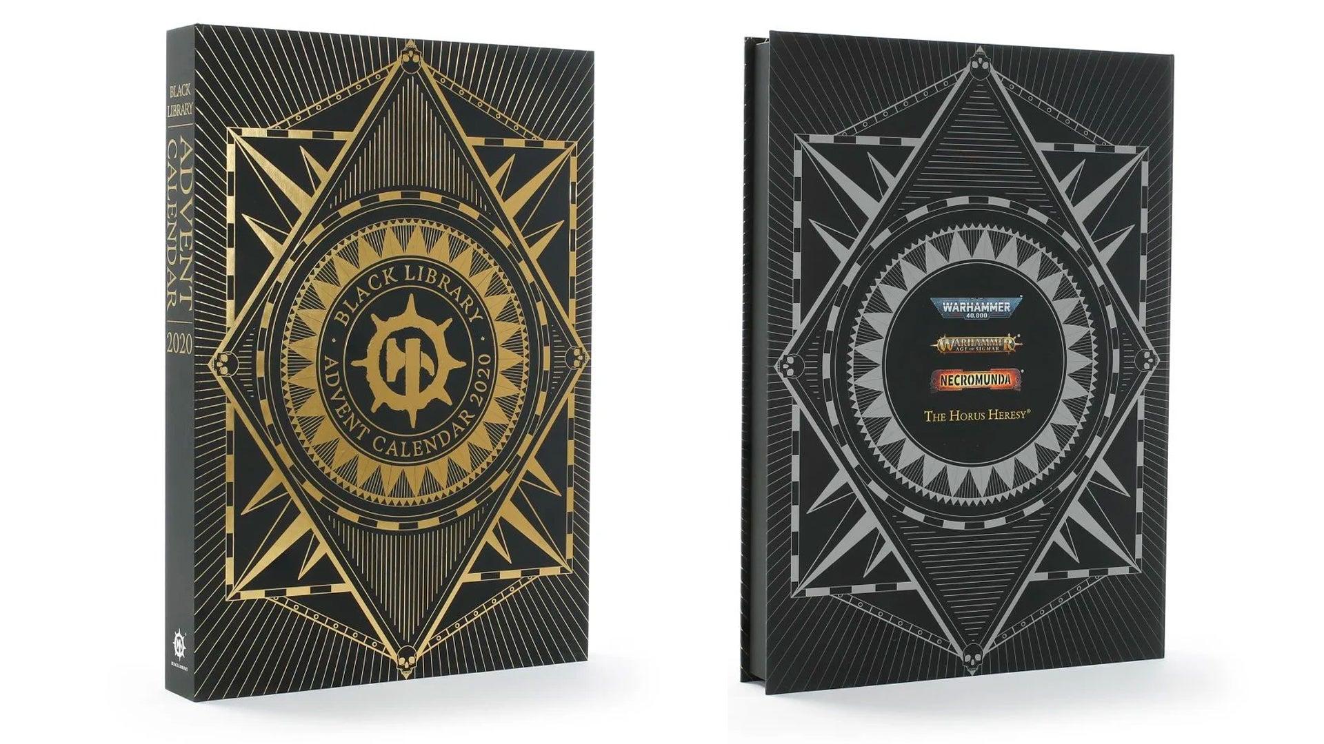 Black Library Advent Calendar 2020 box