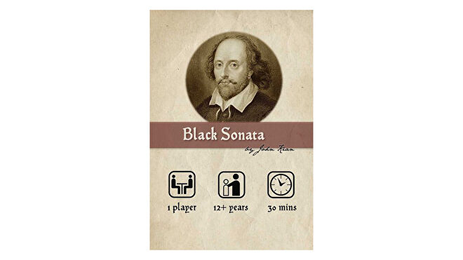 Black Sonata board game box
