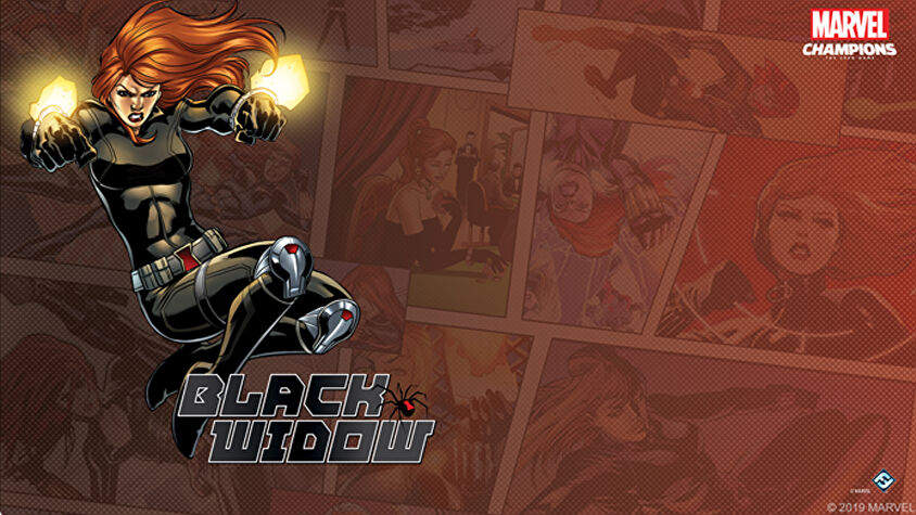 Black Widow Hero Pack Marvel Champions: The Card Game artwork