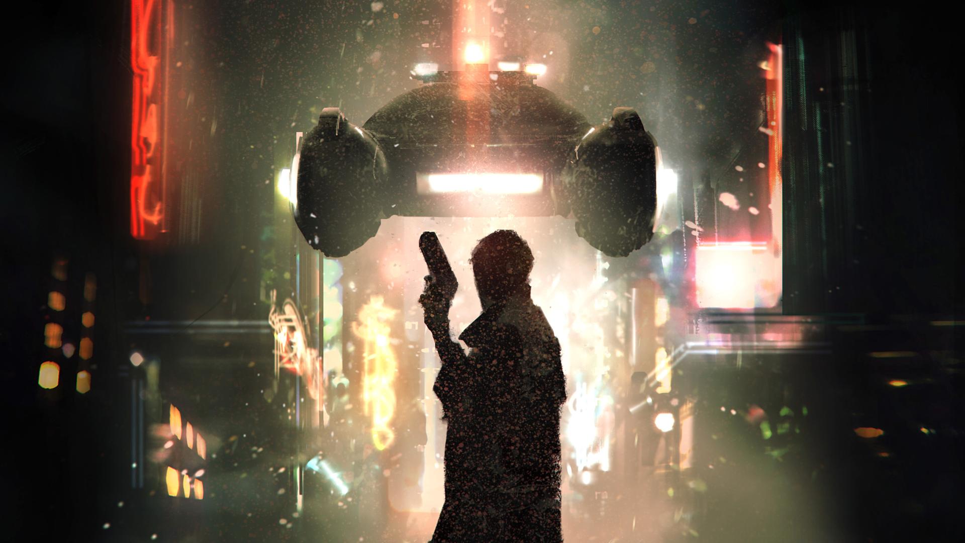 Blade Runner RPG cover artwork
