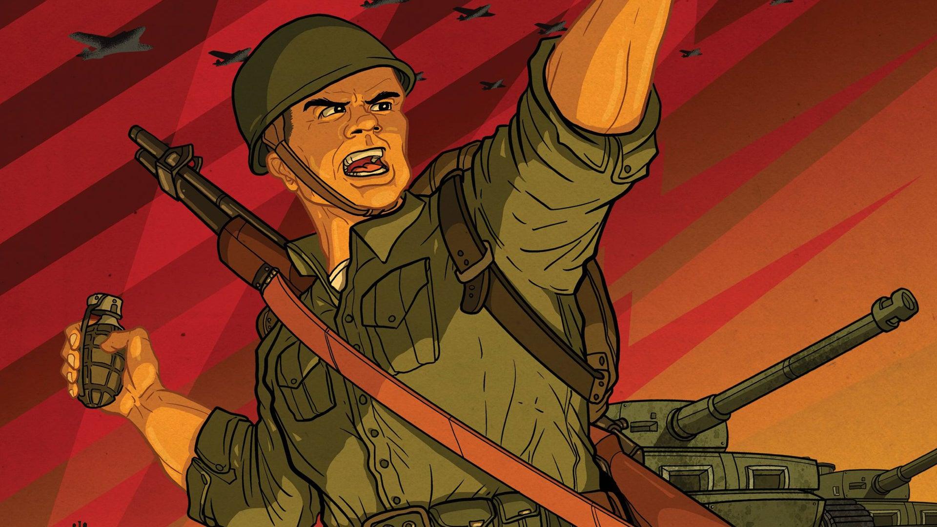 Blitzkrieg board game artwork
