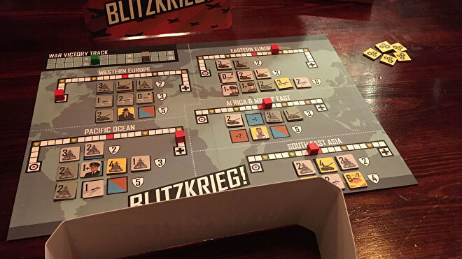 Blitzkrieg board game layout 2