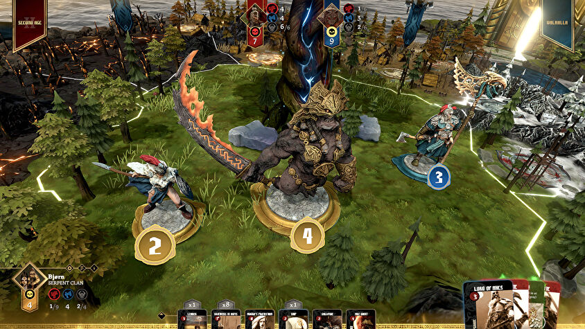 Blood Rage: Digital Edition screenshot