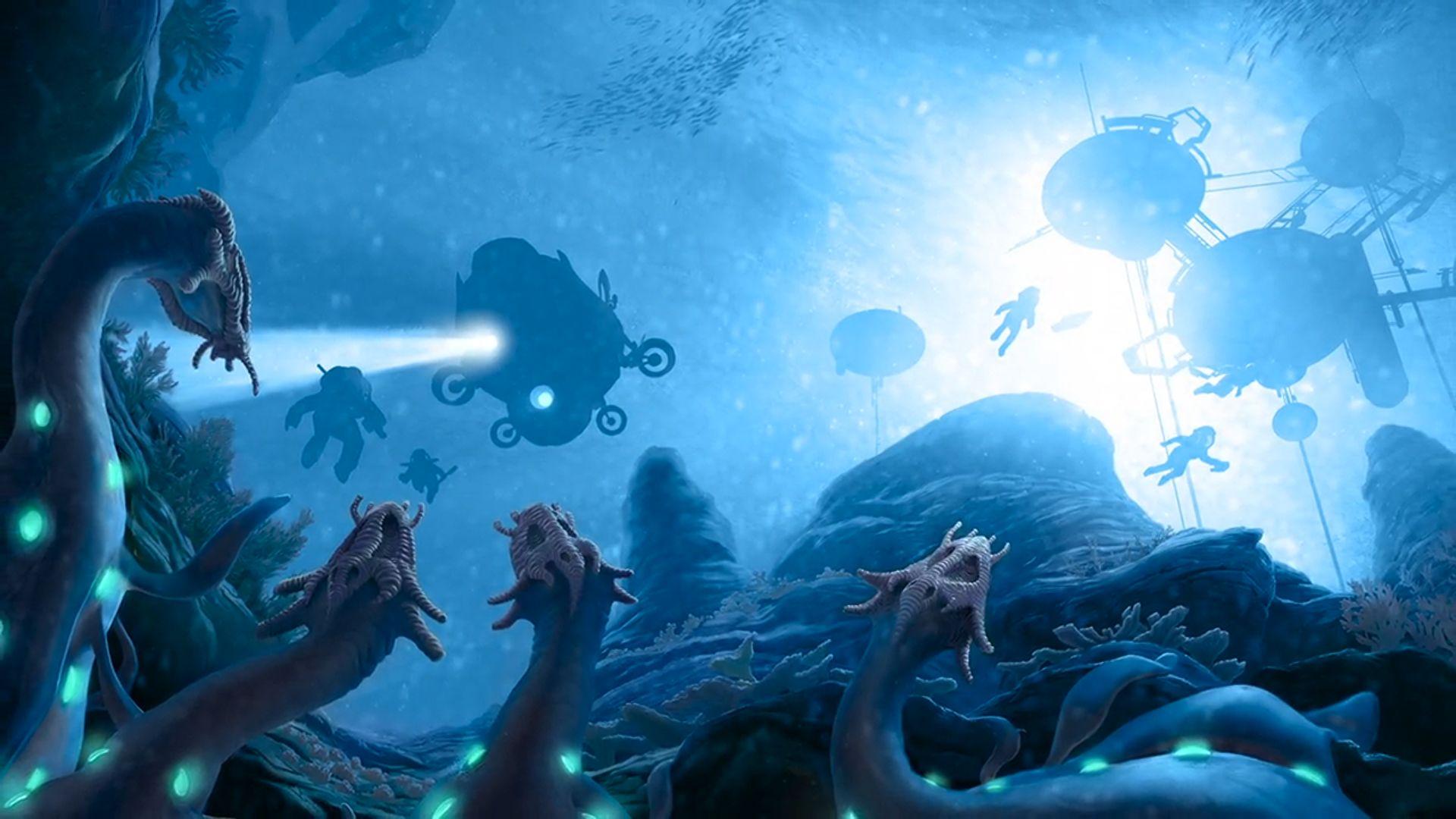 Blue Planet: Recontact artwork