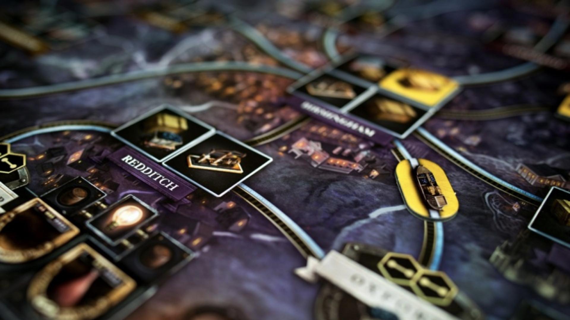 Brass: Birmingham board game layout 3