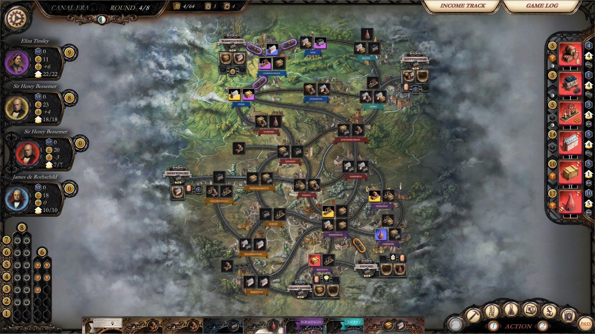Brass: Birmingham digital screenshot 2