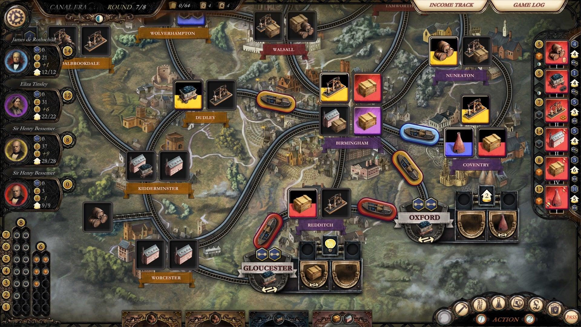 Brass: Birmingham digital screenshot
