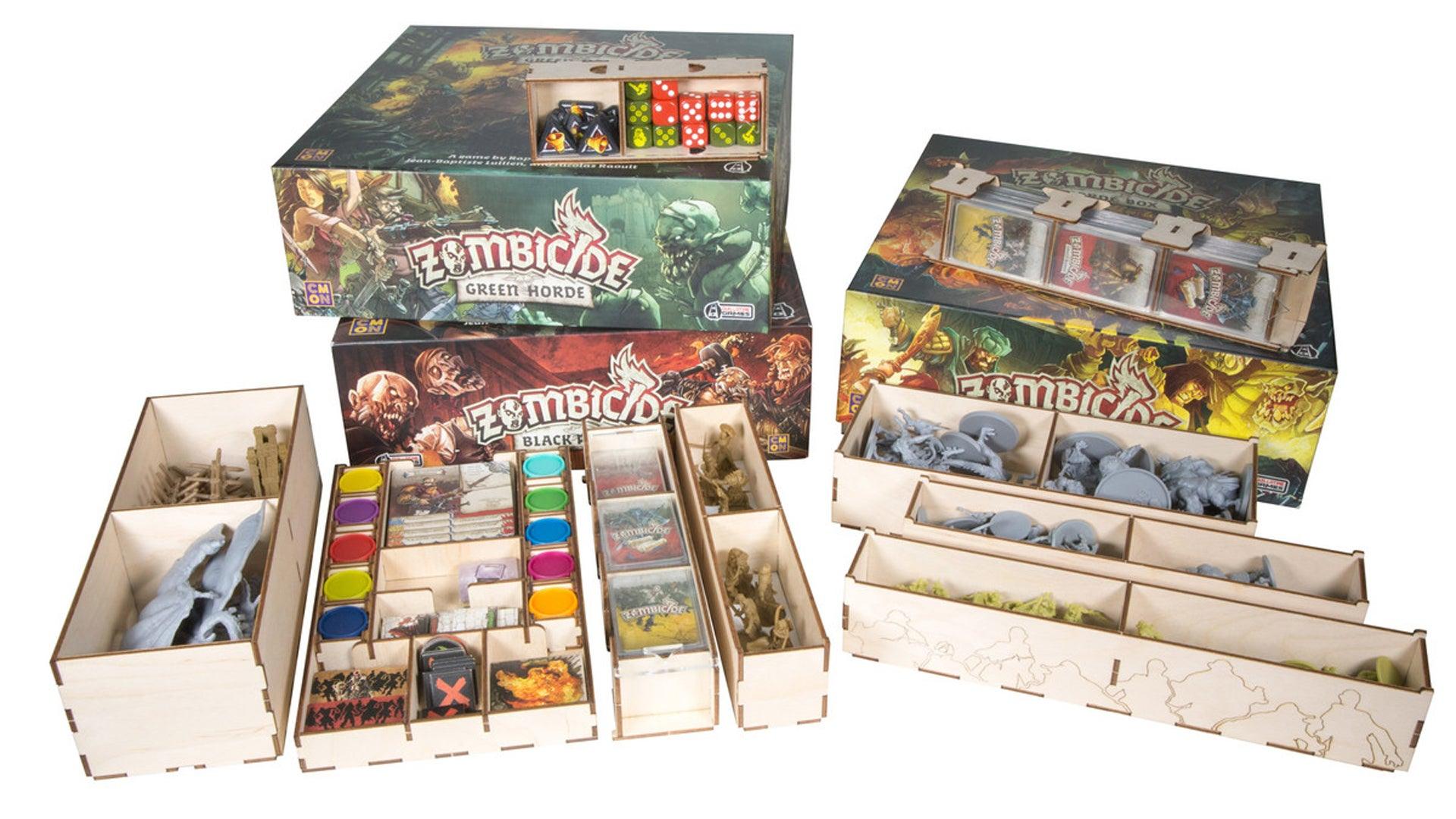 The Broken Token Zombicide board game organiser