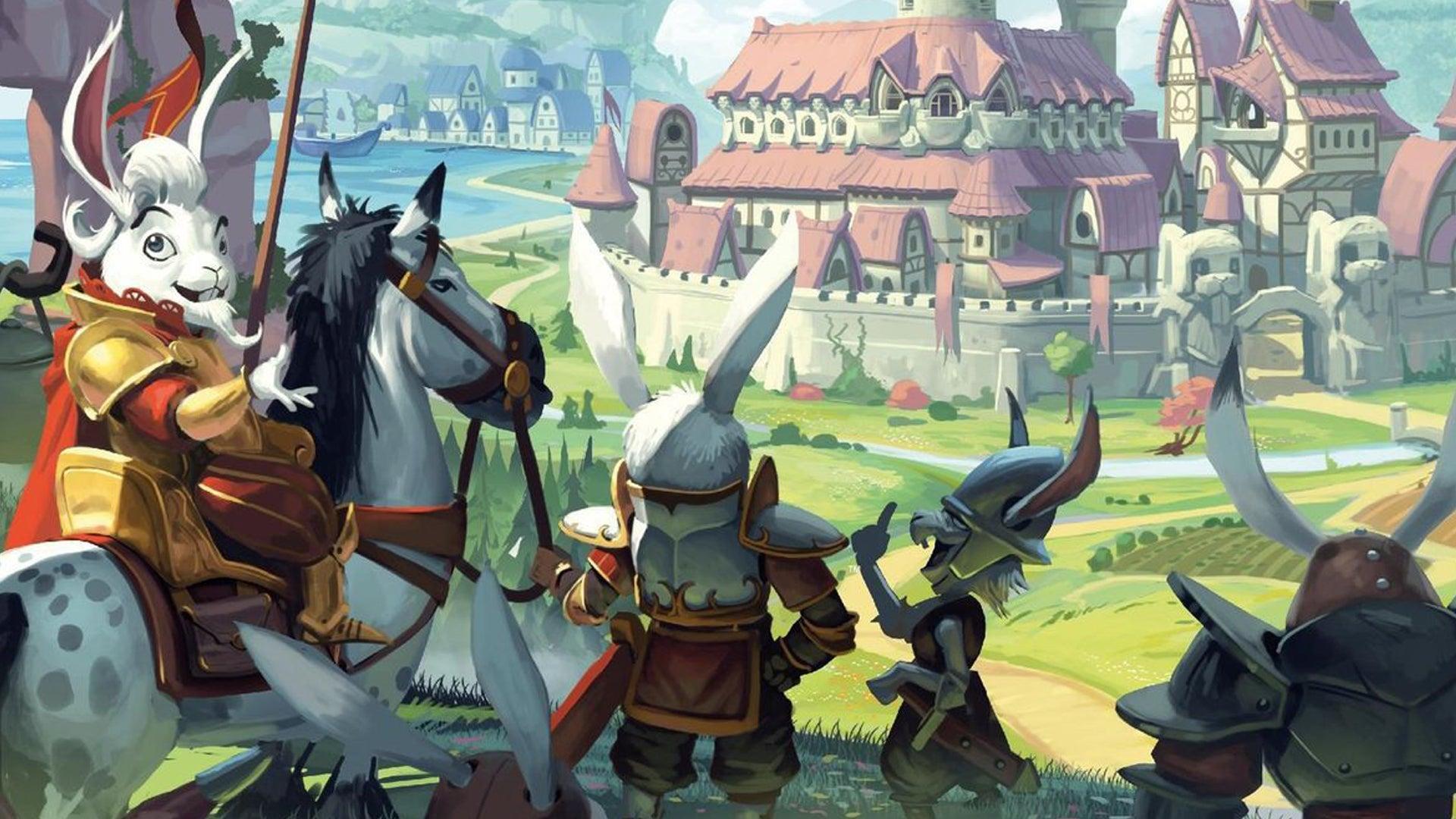 Bunny Kingdom board game artwork