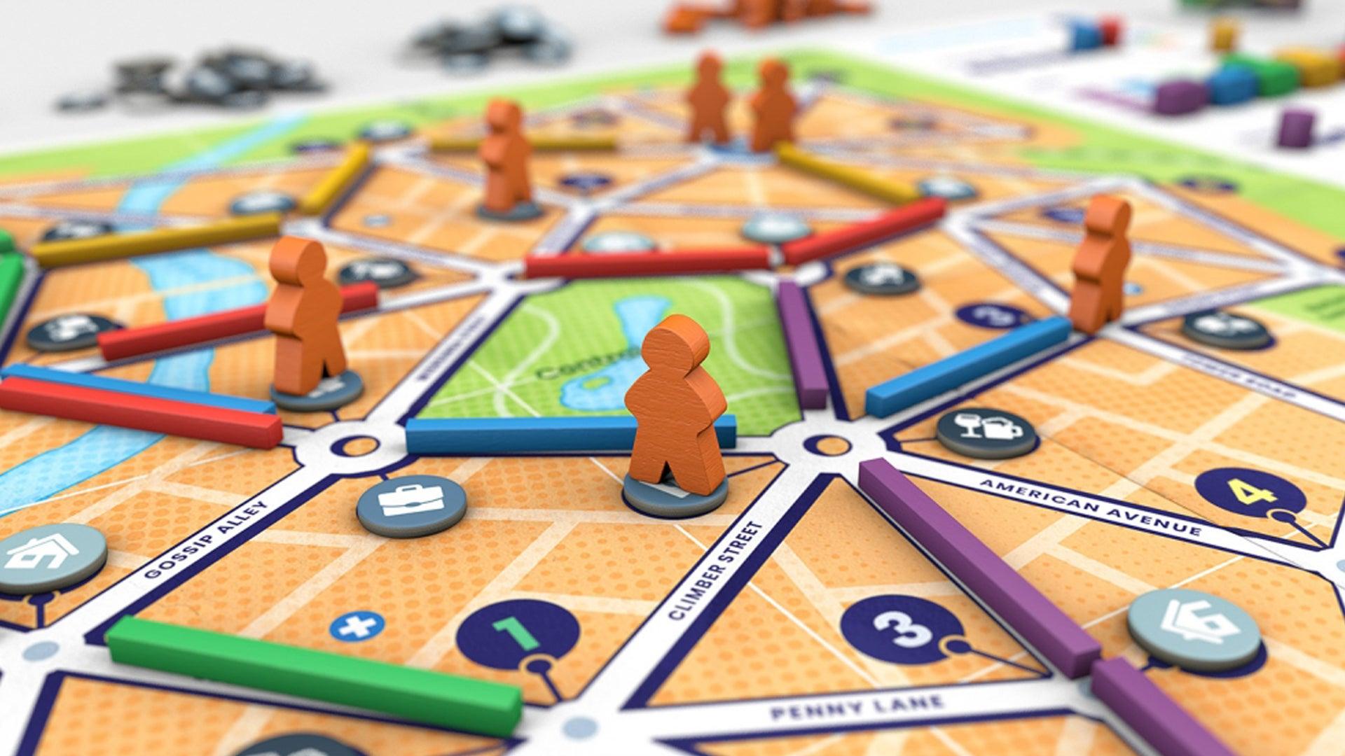 Bus board game gameplay