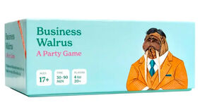 Image for Comedy clickbait website ClickHole has made a party game, Business Walrus
