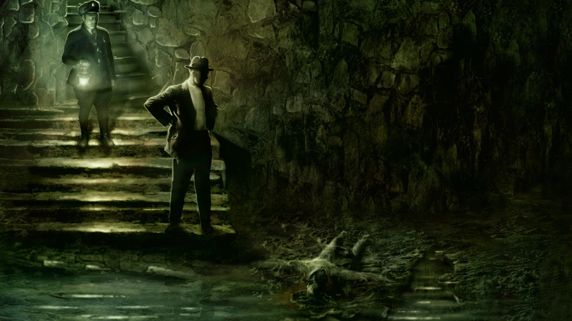 Trail of Cthulhu rpg artwork