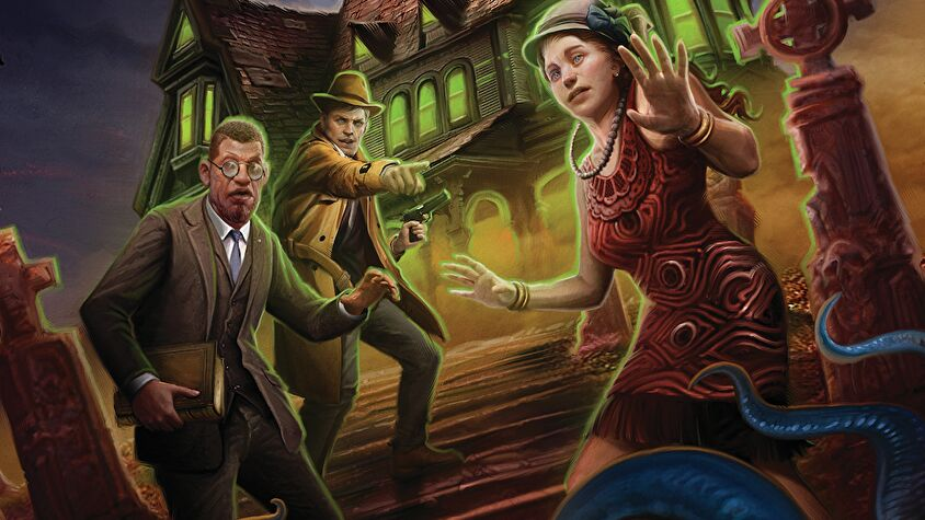 Call of Cthulhu rpg starter set artwork