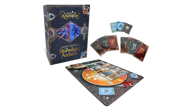 Call to Adventure: The Stormlight Archive board game layout