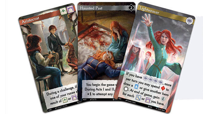 Call to Adventure: The Stormlight Archive board card fan