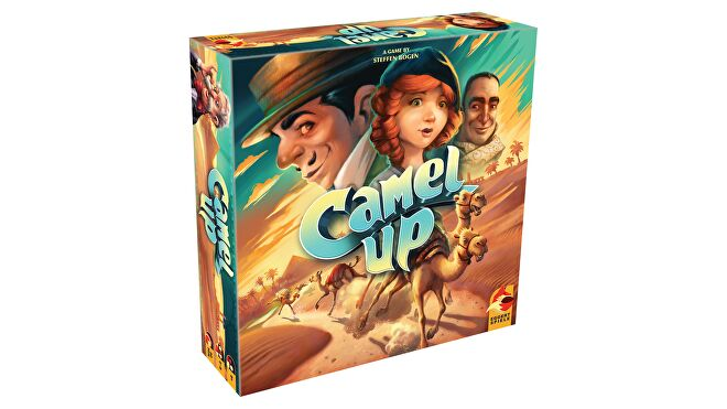 Camel Up: Second Edition beginner board game box