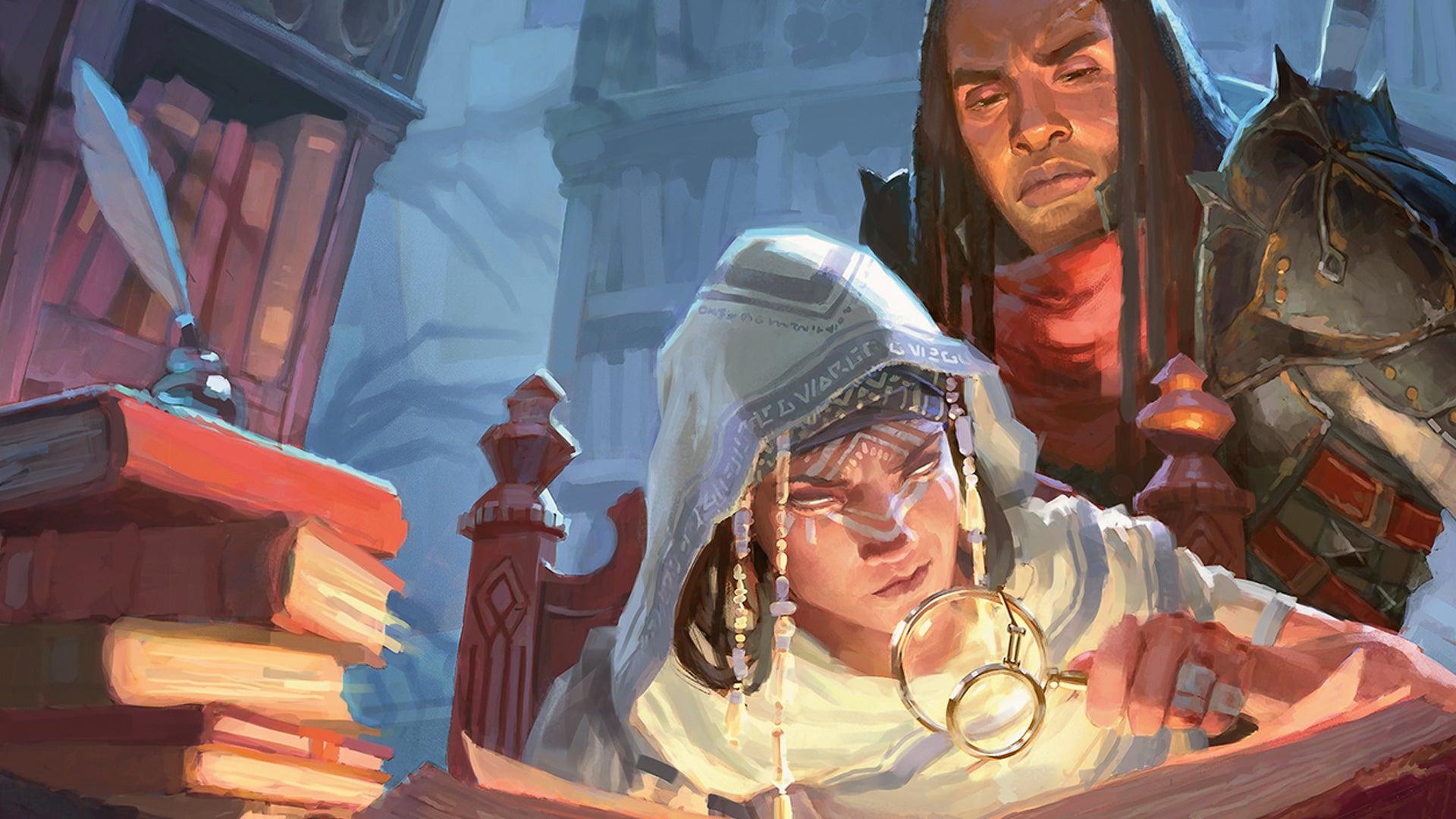 Candlekeep Mysteries artwork