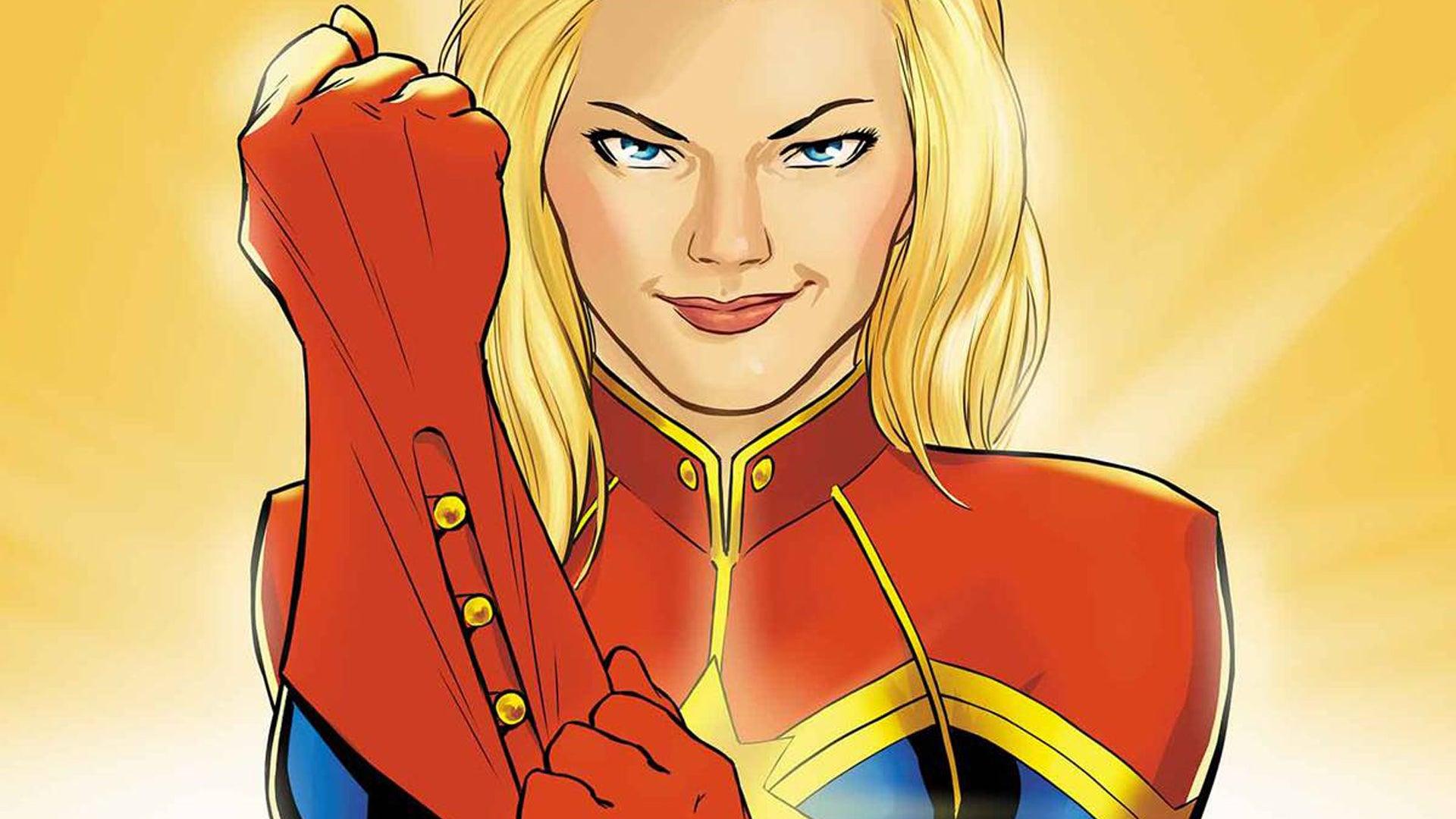 Captain Marvel Smash Up: Marvel