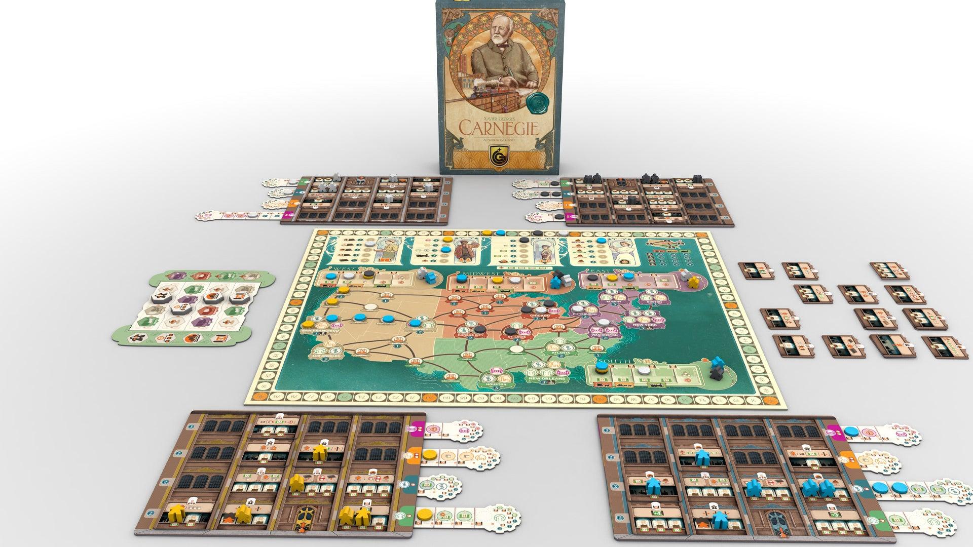 Carnegie board game layout 2