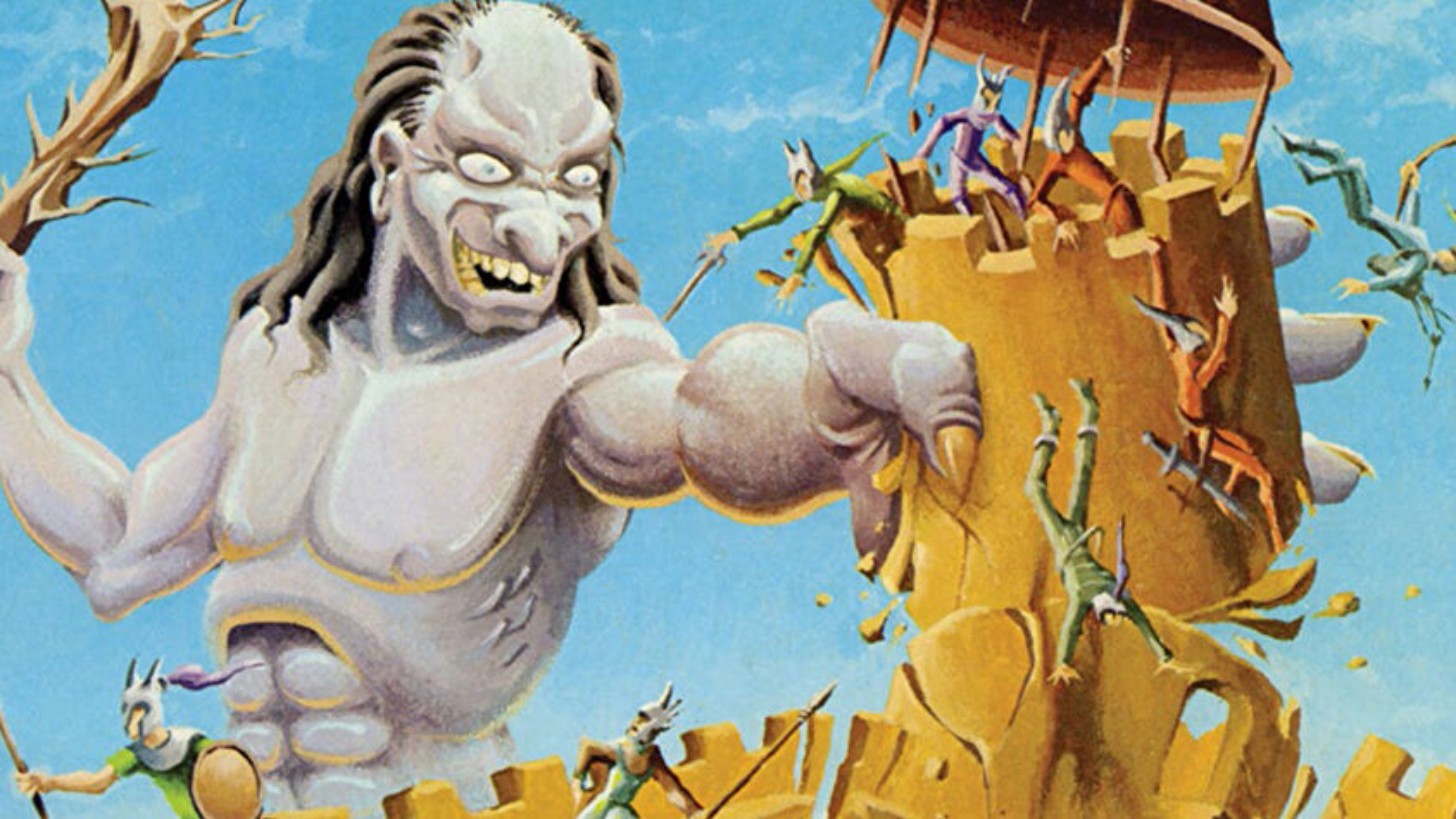 Castle Amber Dungeons & Dragons RPG adventure artwork