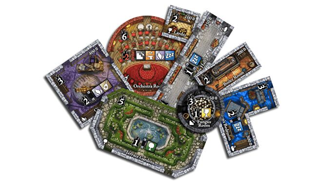 Castles of Mad King Ludwig: Collector's Edition layout