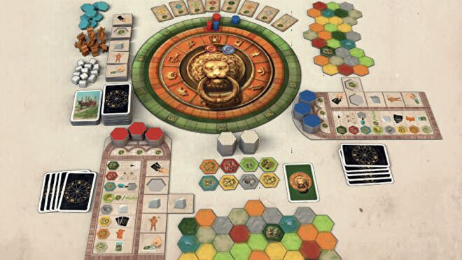 Castles of Tuscany board game rulebook image