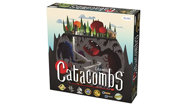 Catacombs dexterity board game box